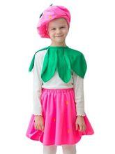 Фрукты и ягоды - Детский костюм клубнички