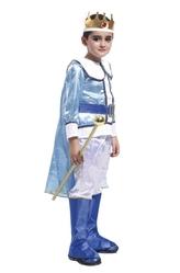 Цари и короли - Детский костюм Короля в бело-голубом