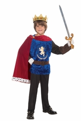 Цари и короли - Детский костюм Короля Воина
