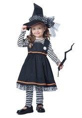 Ведьмы и Колдуньи - Детский костюм коварной ведьмочки