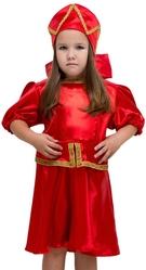 Русские народные - Детский костюм Красная Кадриль плясовой