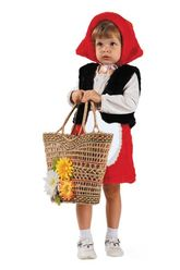 Мультфильмы - Детский костюм красненькой шапочки