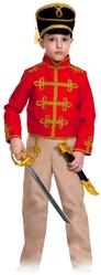 Гусары и Офицеры - Детский костюм красно-бежевого гусара