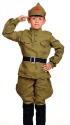Профессии - Детский костюм Красноармейца