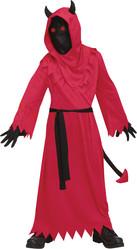 Женские костюмы - Детский костюм красного Чертенка