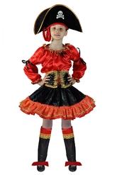 Пиратки - Детский костюм Красной Пиратки