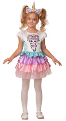 Куклы - Детский костюм Куклы Единорожки ЛОЛ