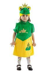 Животные и зверушки - Детский костюм Лягушки-Королевны