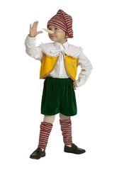 Сказочные герои - Детский костюм мальчика Пинокио