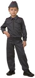 Военные и летчики - Детский костюм мальчика полицейского