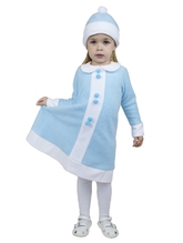 Снегурочки и Снежинки - Детский костюм малышки Снегурочки