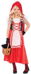 Красные шапочки - Детский костюм милой Красной Шапочки