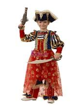 Пиратки - Детский костюм морской пиратки