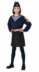Пиратки - Детский костюм морячки с пилоткой