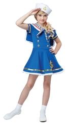 Пиратки - Детский костюм Морячки с якорем