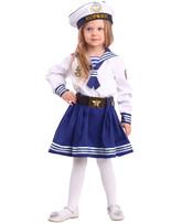 Пиратки - Детский костюм Морячки в бескозырке