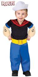Костюмы для малышей - Детский костюм моряка Попайя
