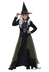 Ведьмы и Колдуньи - Детский костюм Мрачной Ведьмы