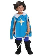 Мушкетеры - Детский костюм Мушкетера Атоса