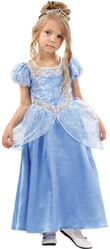 Золушки - Детский костюм нежной Золушки в голубом