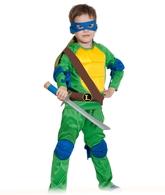Ниндзя и черепашки - Детский костюм Ниндзя Черепашка Леонардо