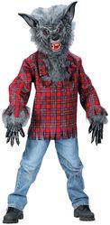 Волки и Собаки - Детский костюм оборотня серый