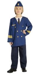 Летчики и пилоты - Детский костюм Пилота самолета