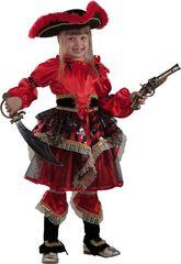 Пиратки - Детский костюм пиратки-озорницы