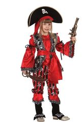 Мультфильмы - Детский костюм пиратки-разбойницы