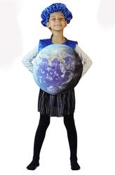 Времена года - Детский костюм планеты Земля