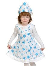 Снежинки - Детский костюм плюшевой Снежинки