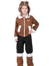 Летчики и пилоты - Детский костюм полярного летчика