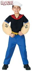 Пираты и разбойники - Детский костюм Попайя