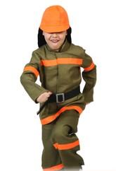 Профессии и униформа - Детский костюм пожарного