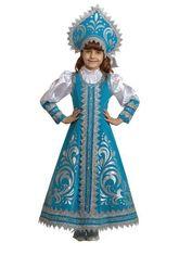 Снегурочки и Снежинки - Детский костюм прекрасной Снегурочки
