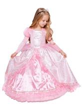 Золушки - Детский костюм Принцессы Золушки в розовом