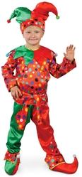 Шуты и скоморохи - Детский костюм Разноцветного Петрушки