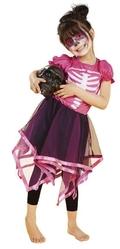 Страшные - Детский костюм Розового скелета