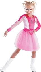 Супергерои и спасатели - Детский костюм Розовой Спайдергерл