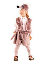 Животные и зверушки - Детский костюм серенького мышонка