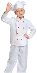 Официанты и официантки - Детский костюм шеф-повара