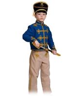 Гусары и Офицеры - Детский костюм синего Гусара