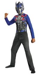 Трансформеры - Детский костюм синего Трансформера Оптимуса Прайма