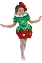 Фрукты и ягоды - Детский костюм сказочной клубнички