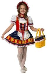 Красная шапочка - Детский костюм сказочной Красной Шапочки