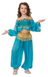Жасмин - Детский костюм сказочной принцессы Жасмин