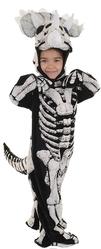 Страшные - Детский костюм скелета Динозавра