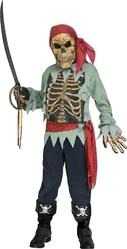 Мертвецы - Детский костюм Скелета пирата