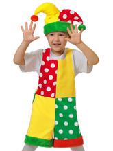 Шуты и скоморохи - Детский костюм Скомороха
