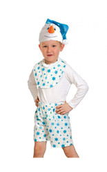 Снеговики - Детский костюм Снеговика Лайт